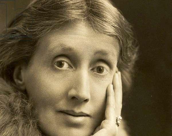 Portrait of Virginia Woolf, 1927 (photo)