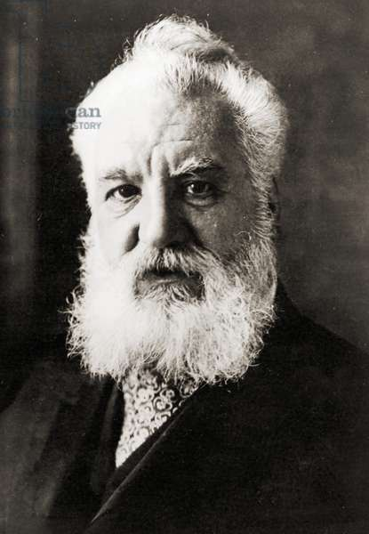 Alexander Graham Bell, c.1920 (b/w photo)