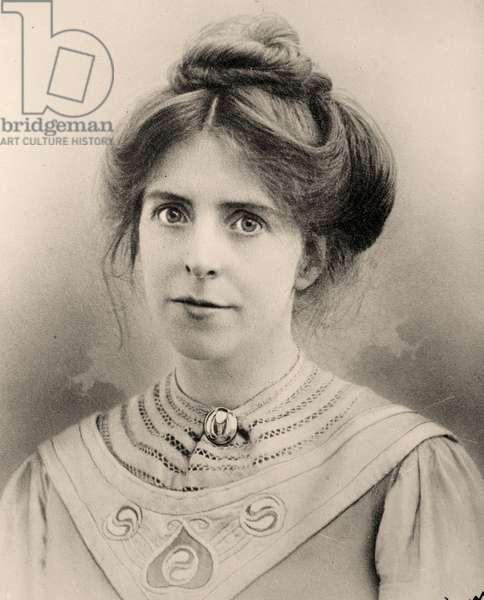 Portrait of Annie Kenney, 1909 (photo)