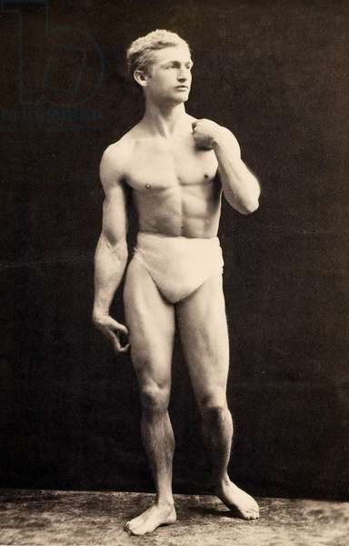 Portrait of Bernarr Macfadden, 1893 (photo)