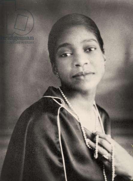 Portrait of Bessie smith, (photo)