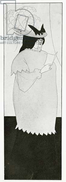 Illustration for 'L'Education Sentimentale', 1894 (litho)