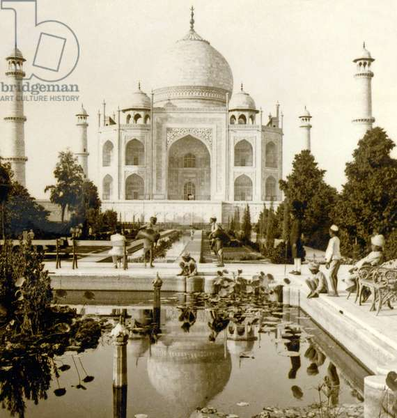 View of the Taj Mahal, Agra, India. 1903 (photo)