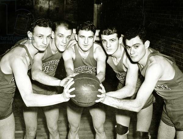Duquesne University Basketball Team, 1933 (photo)