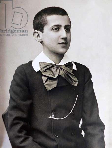 Portrait of Marcel Proust, 1887 (photo)