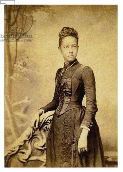 Portrait of Alice Dunbar Nelson, (photo).