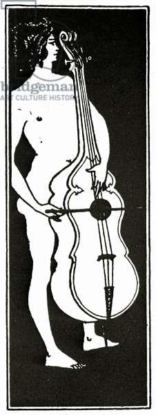L'homme au Violoncelle, c.1894 (litho)
