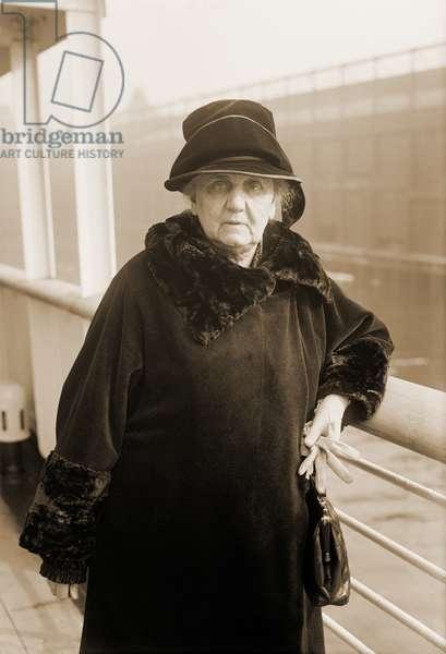 Portrait of Jane Addams, c.1926   (photo)