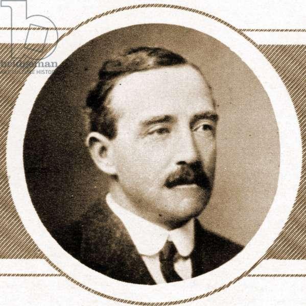 Portrait of Brigadier General Sir John Edmond Gough VC, KCB, CMG (1871 – 1915), known as Johnnie Gough. (Sepia Photo)