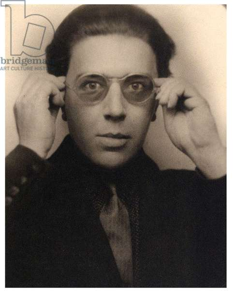 Portrait of André Breton. 1924 (photo)
