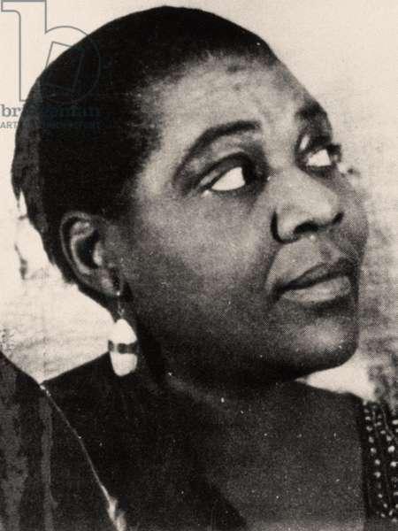 Portrait of Bessie smith, 1936 (photo)