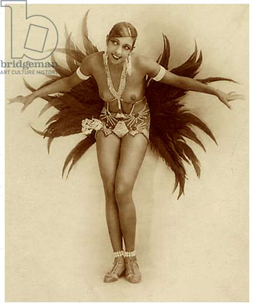 Josephine Baker c.1929 (sepia photo)