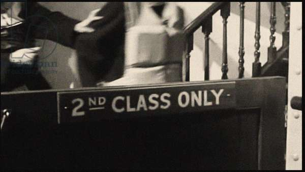 snd class only sign aboard the Titanic, c.1912 (photo)