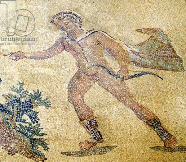 Apollo and Daphne, detail of Apollo, House of Dionysos, Paphos, Cyprus (mosaic)