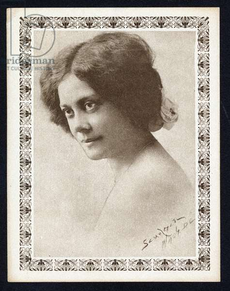 Portrait of Alice Dunbar Nelson, 1900 (photo)