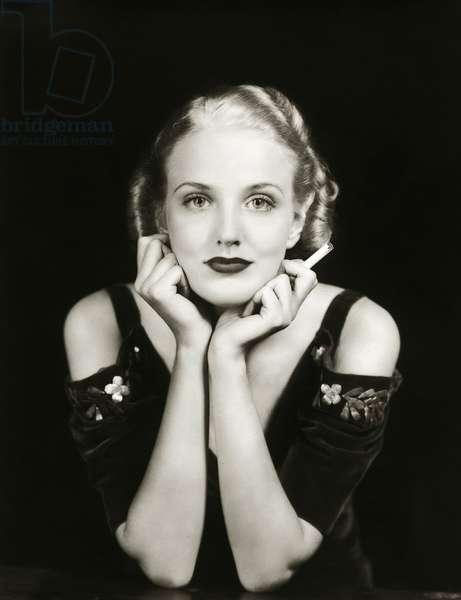 The Ziegfeld Follies performer Georgia Carroll c.1925 (b/w photo)