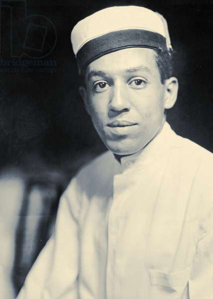 Publicity photo of Langston Hughes, 1925 (b/w photo)