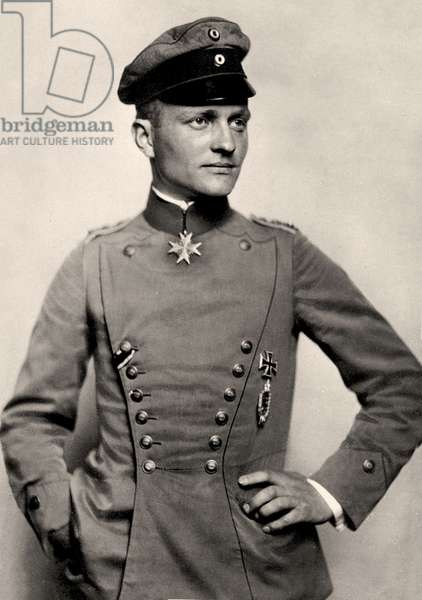 Portrait of Manfred von Richthofen, c.1919 (photo)