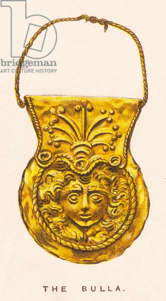Roman Bulla charm. 1923 (colour litho)