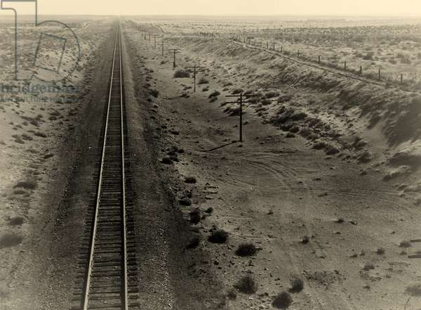 Western Pacific line, Oregon. 1936 (b/w photo)