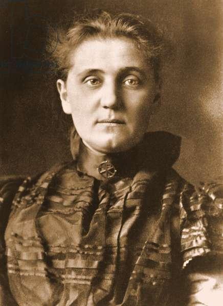 Portrait of Jane Addams, c.1901   (photo)