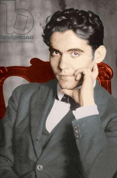 Portrait of Federico García Lorca, c.1919 (photo)
