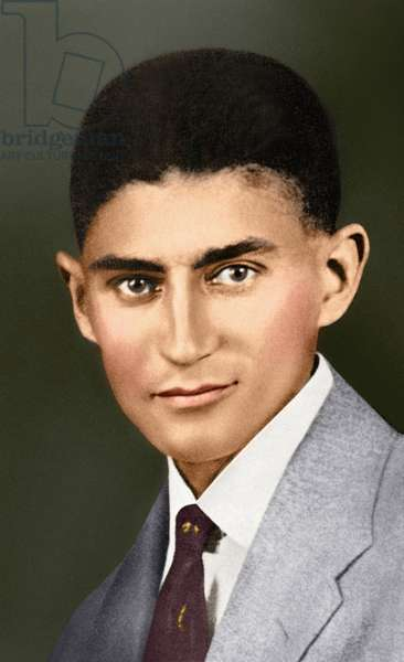 Portrait of Franz Kafka, (1883 – 1924) (photo)