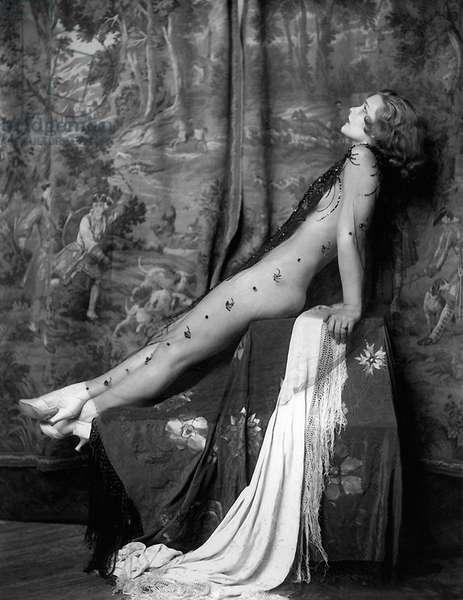 Drucilla Strain, Ziegfeld Follies Girl, c. 1928 (b/w photo)