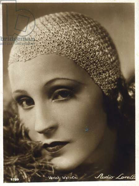 Brigitte Helm, 1920s (b/w photo)
