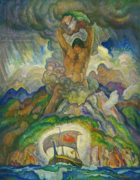Polyphemus, the Cyclops, 1929 (litho)