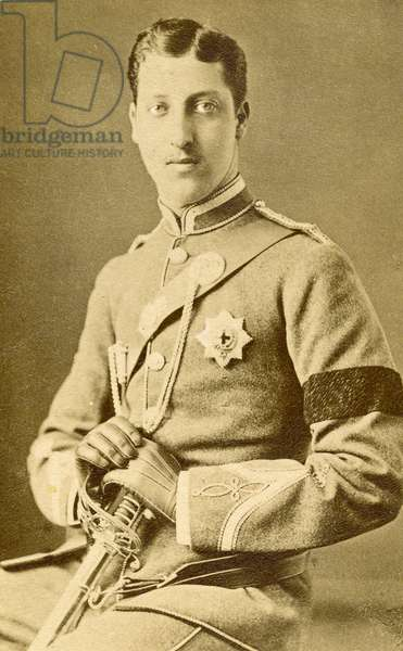 Portrait Prince Albert Victor of Wales. (photo)