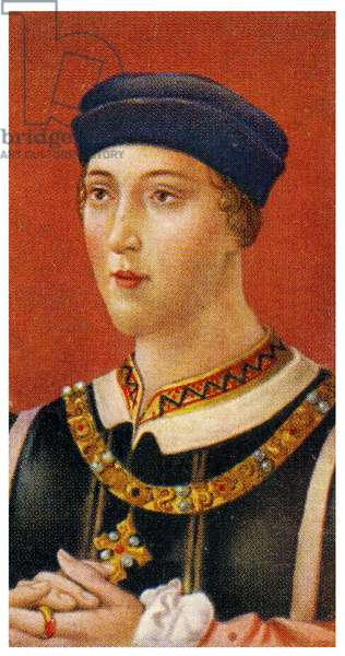 Portrait of King Henry VI ,1935 (litho)
