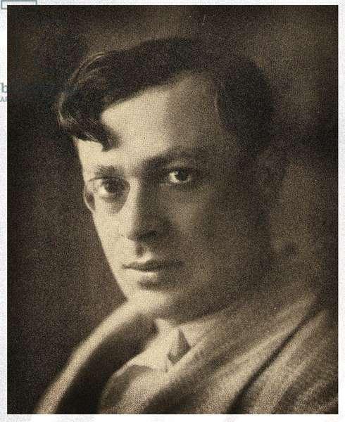 Portrait of Tristan Tzara,  1932 (photo)