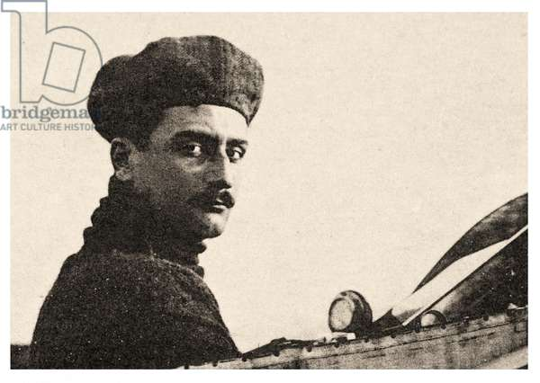 Portrait of Roland Georges Garros (photo)