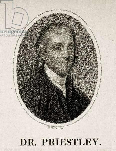 Portrait of Joseph Priestley. c.1788 (engraving)