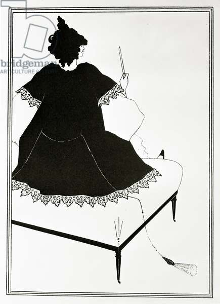Salome Maitresse d'orchestre, ou la femme au dildo, c.1894 (litho)