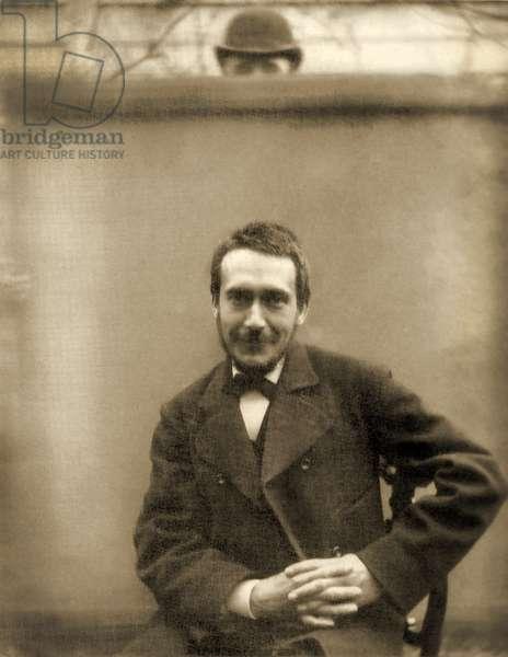 Portrait of Thomas Eakins, 1883 (sepia photo)