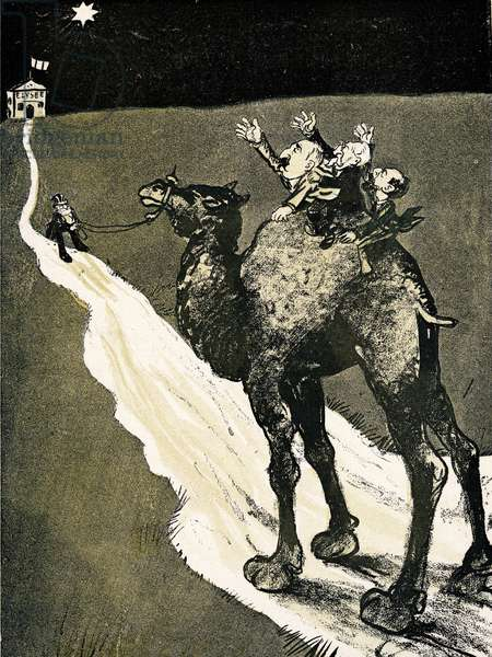 The Walk to the Star, 1905. (litho)