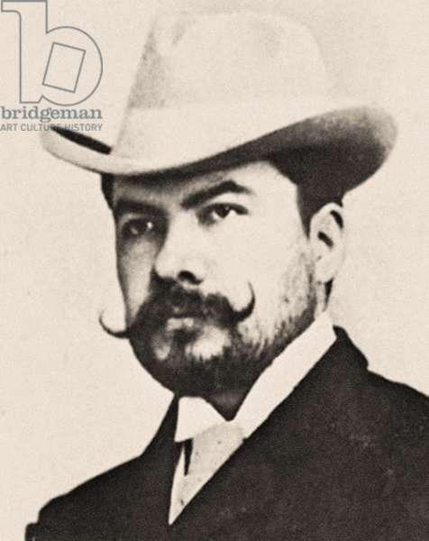 Portrait of Rubén Darío (photo)