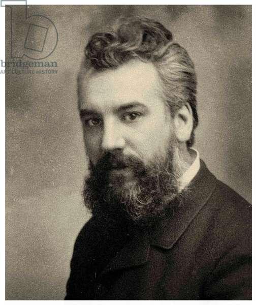 Portrait of Alexander Graham Bell, c.1885 (photo)
