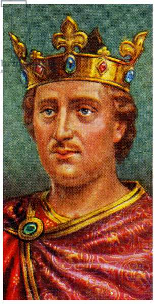 Portrait of Henry II  ,1935 (litho)
