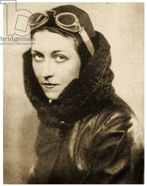 Portrait of Amy Johnson, 1938 (photo)