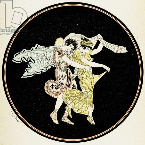 Illustration from Notor's Lysistrata,  1898 (litho)
