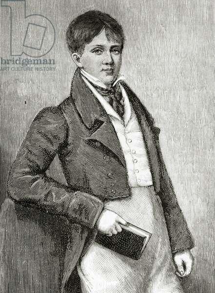 Arthur Henry Hallam, 1901 (litho)