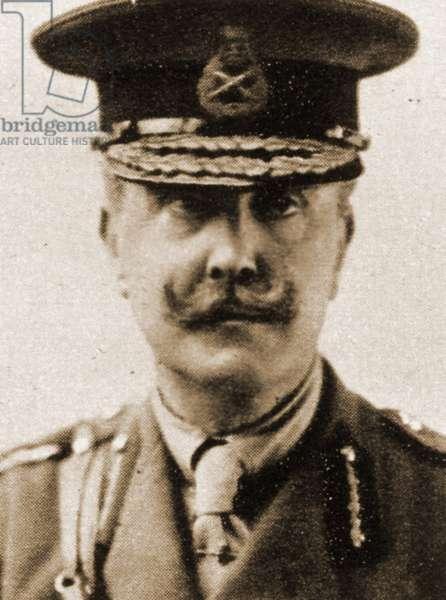 Portrait of Brigadier General G C Nugent MVO (sepia photo)