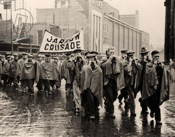 The Jarrow March to London, 1936 (photo)