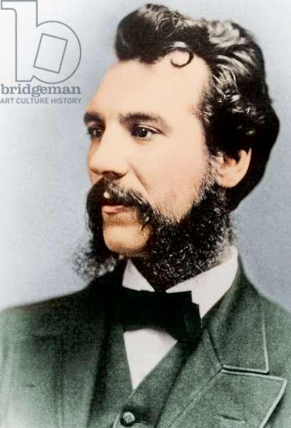 Alexander Graham Bell, 1876 (photo)