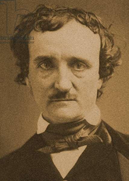 Portrait of Edgar Allan Poe. 1849 (Daguerreotype)