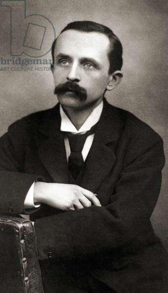Portrait of J.M.Barrie, c1890 (Sepia Photo)