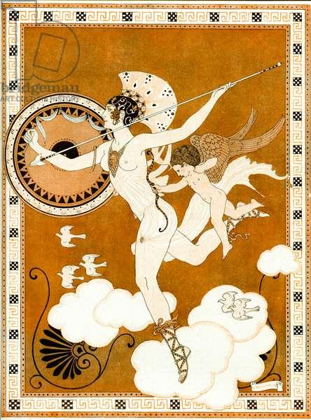 L'Amazone 1916 (Pochoir)